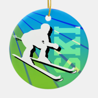 Ski Ornament Add Photo