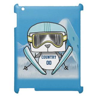 Ski Panda iPad Cover