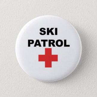 Ski Patrol 6 Cm Round Badge