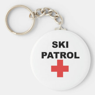 Ski Patrol Key Ring