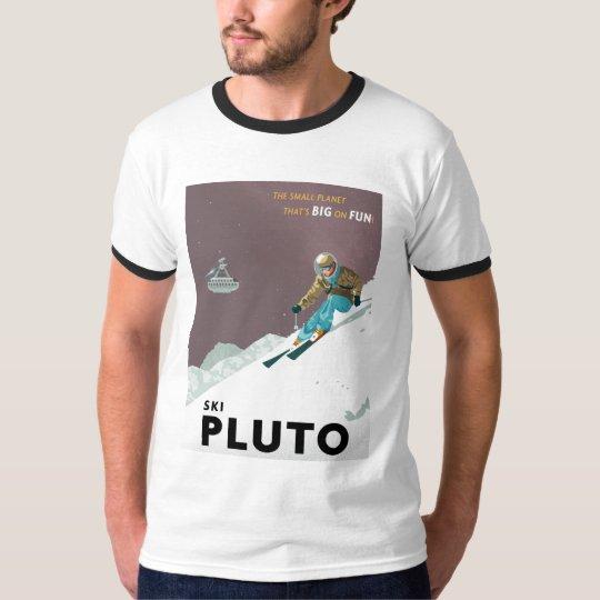 Ski Pluto tshirt