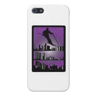 SKI PURPLE RAZE iPhone 5 CASE