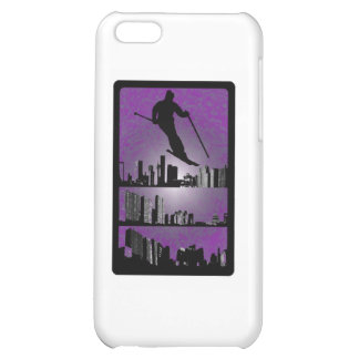 SKI PURPLE RAZE iPhone 5C CASES