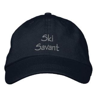 Ski Savant Embroidered Baseball Cap Hat