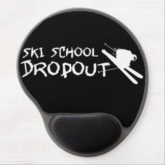 Ski School Dropout Gel Mouse Mat
