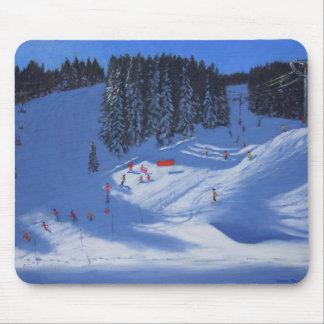 Ski school Morzine 2014 Mouse Mat
