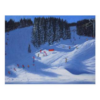 Ski school Morzine 2014 Postcard