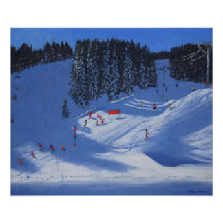 Ski school Morzine 2014 Poster
