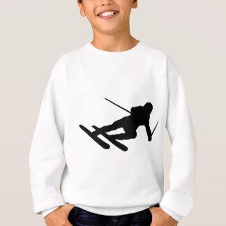 ski skiing downhill skier sweatshirt