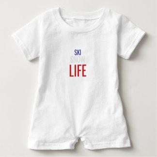 Ski, Snow, Life Baby Bodysuit