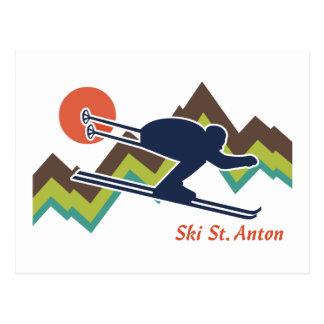 Ski St. Anton Post Cards