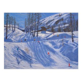 Ski station Tignes 2009 Postcard