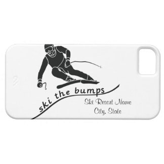 Ski The Bumps iPhone 5 Cases