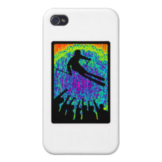 SKI THE ENCOURAGED iPhone 4 COVER