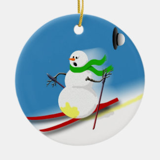 Ski Theme Gift Ideas Holiday Funny Christmas Christmas Ornament