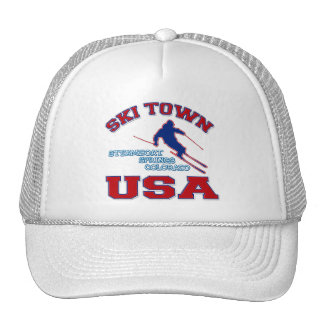 Ski Town USA, Steamboat Springs, Colorado Hats