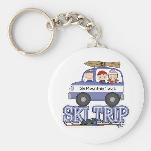 Ski Trip Key Chains