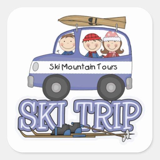 Ski Trip Stickers