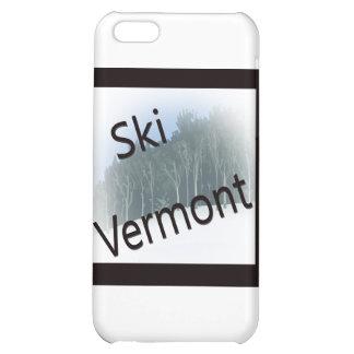 Ski Vermont black Case For iPhone 5C