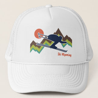 Ski Wyoming Trucker Hat