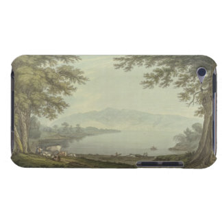 Skiddaw and Derwent Water (pen & ink with w/c over Case-Mate iPod Touch Case