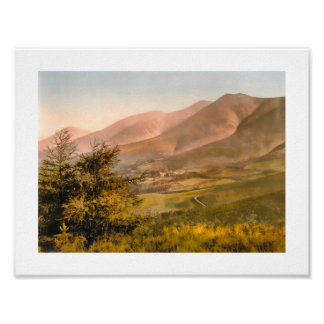 Skiddaw, Keswick, Lake District England Poster