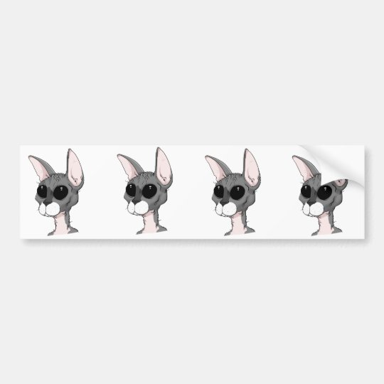 Skidmark the Cat Bumper Sticker