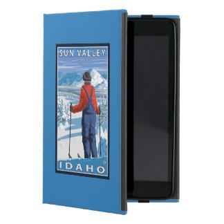 Skier Admiring - Sun Valley, Idaho Case For iPad Mini