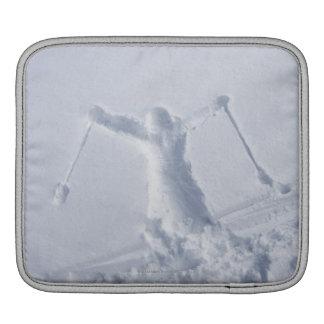 Skiers 2 iPad sleeve