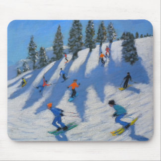 Skiers Lofer 2010 Mouse Mat