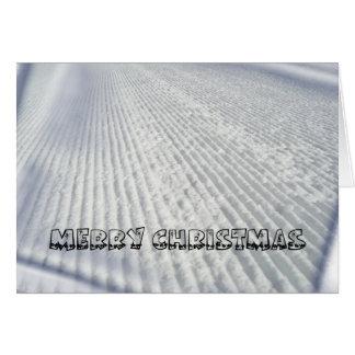 Skiers / Snowboarders Christmas Card