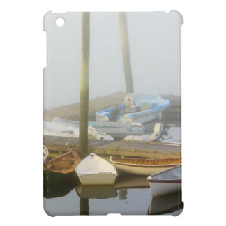 Skiffs and morning fog in Southwest Harbor, Case For The iPad Mini