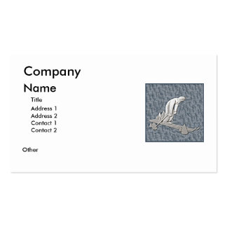 Skiing Business Card Templates