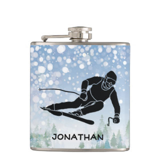 Skiing Design Flask