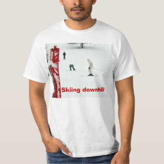 Skiing downhill T-Shirt