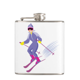 Skiing Flask