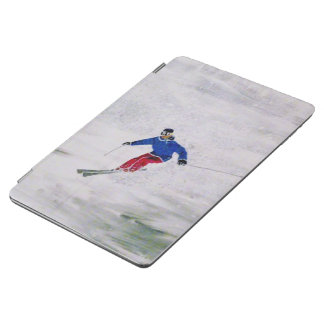 Skiing ipad Cover