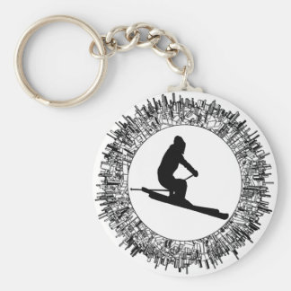 SKIING IS NAMED KEY RING