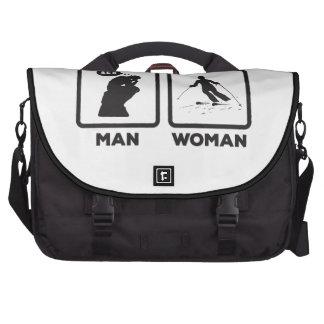 Skiing Laptop Bags
