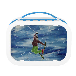 Skiing lunchbox