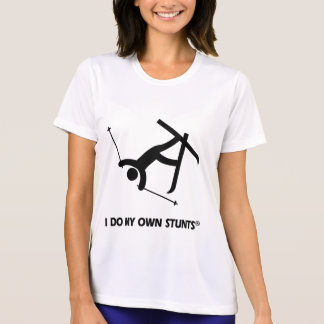 Skiing My Own Stunts T-Shirt