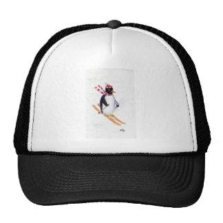 Skiing Penguin Cap