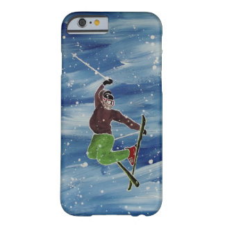Skiing Phone Case