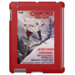 Skiing Promotional Poster iPad Case