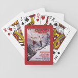Skiing Promotional Poster Poker Deck
