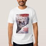 Skiing Promotional Poster Shirt