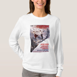Skiing Promotional Poster T-Shirt
