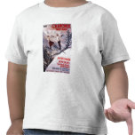 Skiing Promotional Poster T Shirts