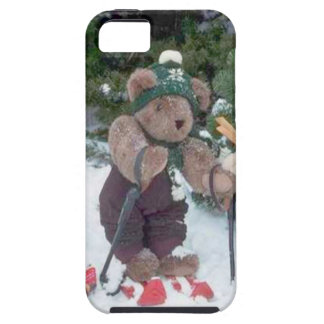 Skiing Teddy Bears on the slopes Case For The iPhone 5