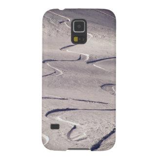 Skiing Tracks Galaxy S5 Covers